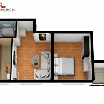 Apartament B1-2 camere la cheie