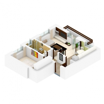 Apartament cu 2 camere, decomandat in constructie noua din caramida