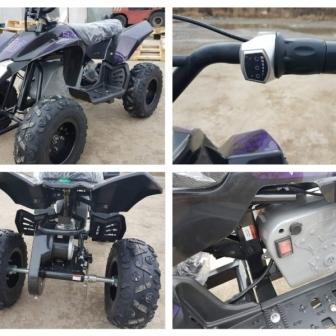 ATV electric Pentru copii NITRO Eco Trio Quad 350W 24V  cu 2 Viteze