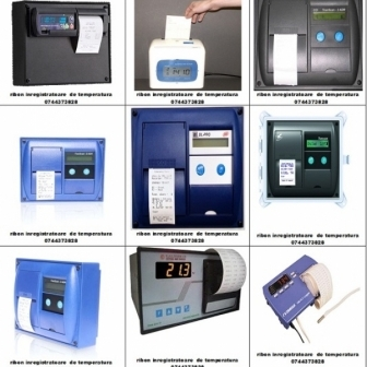 Cartus tusat si Rola hartie TRANSCAN, THERMO KING, ESCO DR, DATACOLD CARRIER, TO