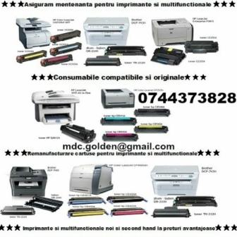 Cartuse pentru imprimante  0744373828 Hp, Samsung, Canon, Lexmark, Xerox, Epson,