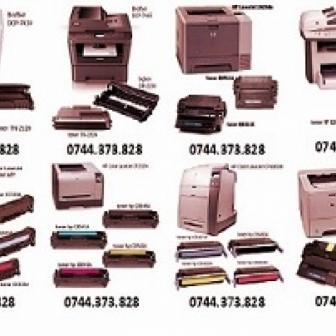 Cartuse toner pt. copiatoare, imprimante si faxuri