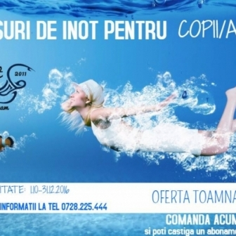 Club Inot Swimming Team te invita la Marea Deschidere Oficiala