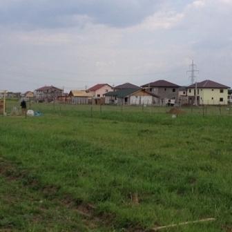 Comuna Berceni teren casa dubla deschidere 418mp utili