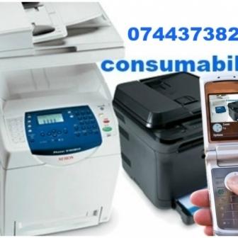Consumabile laser, inkjet, imprimante, multifunctionale, faxuri si copiatoare