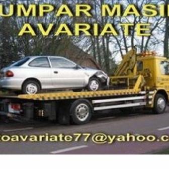 Cumpar masini avariate daune totale epave auto orice fel