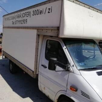 Duba Mercedes Sprinter de inchiriat pt transporto marfa