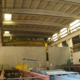 Hala industriala cu pod rulant Iasi 10 si 12 tone 3988 mp