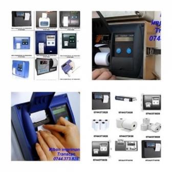 Hartie si ribon inregistrator Transcan 2ADR,TKDL, Datacold Carrier, Euroscan, Th