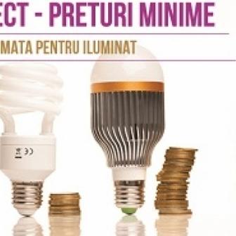 Iluminat LED interior/exterior, incepand cu 7 ron