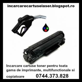La 0744373828 Incarcare cartuse negru si color pentru imprimante, multifunctiona