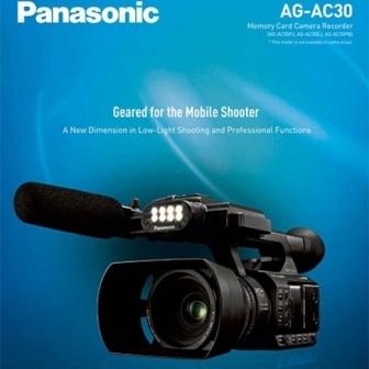 Panasonic AG-AC30 videocamera filmari nunti / evenimente / studio