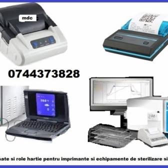 Panglici tus si role hartie imprimante echipamente medicale, imprimante steriliz
