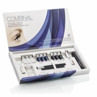 Permanent de gene cu silicon Combinal Eyelash Lifting kit Dr. Temt