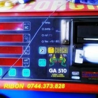 Ribon imprimanta analizor gaze sau opacimetru din service-uri auto ,statii ITP.