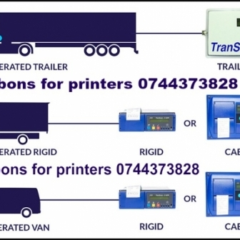 Ribon si hartie pt.Transcan, DataCold, Euroscan,Thermo King