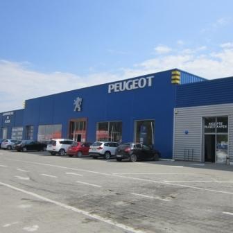 Showroom auto, Calea Bucuresti, Sacele