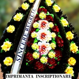 Sistem de scriere mesaje funerare
