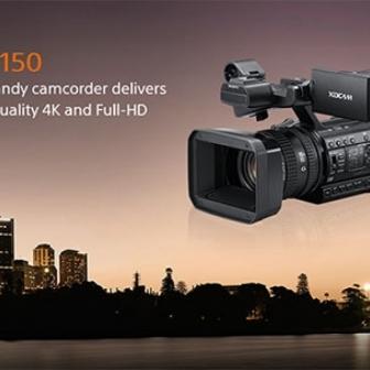 Sony HXR-NX100/ PXW-Z150/ NX3; Panasonic AC90 / DVX200; camere video pro, nunti.