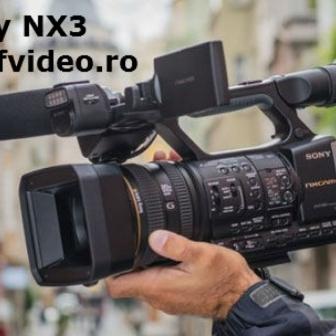 Sony MC2500; Sony NX100; Sony NX3; Videocamere Nunti; Fvideo.ro