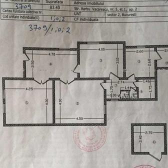 Vand apartament/ spatiu comercial - Barbu Vacarescu