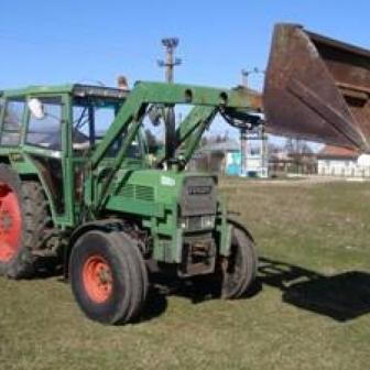 Vand tractor fendt 105 ls 60 cp cu incarcator frontal, servodirectie