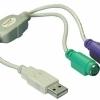 Adaptor USB la PS-2 pt. Tastatura si Mouse – 61244