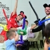 Animatie petreceri copii Constanta, baloane si pictura pe fata la party copii