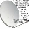 ANTENE TV-RADIO FARA ABONAMENT +40 0767014723
