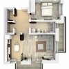 Apartament 2 camere, 54 mp + terase