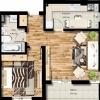 Apartament 2 camere - Metro Militari (Chiajna/Rosu)