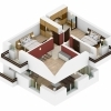 Apartament 3 camere + 3 terase, 86 mp, tip duplex