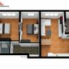 Apartament C1-3 camere la cheie