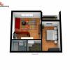 Apartament Studio A1-2 camere la cheie