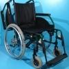Are toate cele 4 roti dotate cu cauciuc si camera Ortopedia / sezut 48 cm