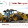Atestat RAPID  buldoexcavatorist excavatorist mecanic utilaje vola deservent