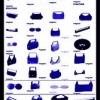 Banda-ribon masina de scris electrica  Sharp, Canon, Panasonic, Brother AX