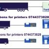 Banda tus-imprimanta Transcan 2ADR, DL-SPR, DL-PRO, Euroscan,