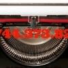 Banda tusata -masina de scris