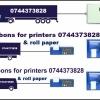 Benzi tus si role hartie imprimante termodiagrame Transcan, Thermo King, Eurosca