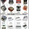Benzi tusate ptr.masini de scris mecanice si electrice.