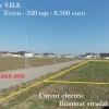 Berceni Ilfov teren construibil / curent la lot