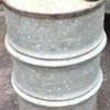 Butoi din tabla zincata cu cercuri