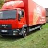 Camion 12 tone MAN