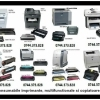 Cartuse pentru imprimante Brother, Epson, Ricoh, Oki, Ibm, Kyocera-Mita,