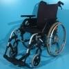 Carucior cu rotile din aluminiu Breezy/latime sezut 43 cm