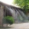 Ceata racoritoare produsa cu apa pulverizata cu presiune