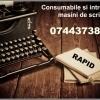 Consumabile si intretinere ptr. masini de scris