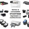 Consumabile si service imprimante  0744373828 si multifunctionale.