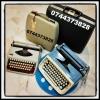 Curatare si reglare masini de scris, consumabile.
